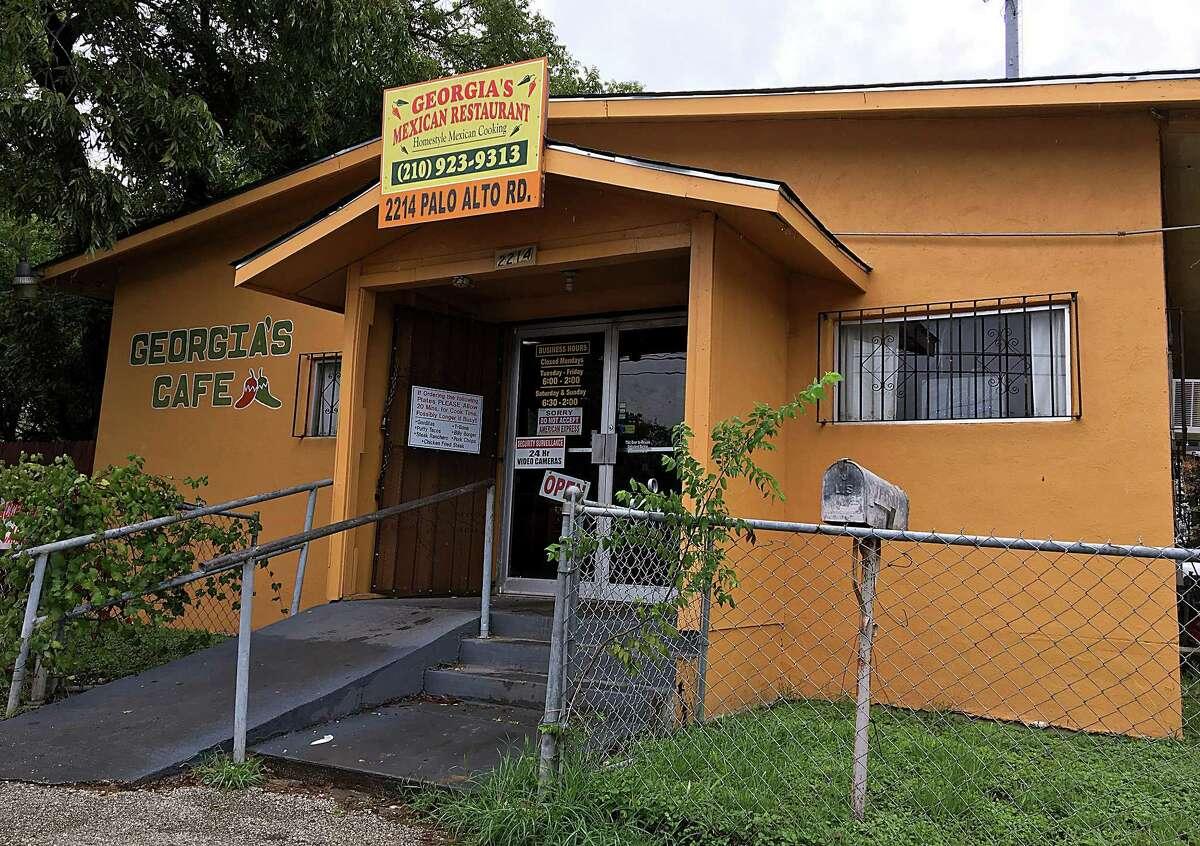 Georgia's Mexican Restaurant on Palo Alto Road.