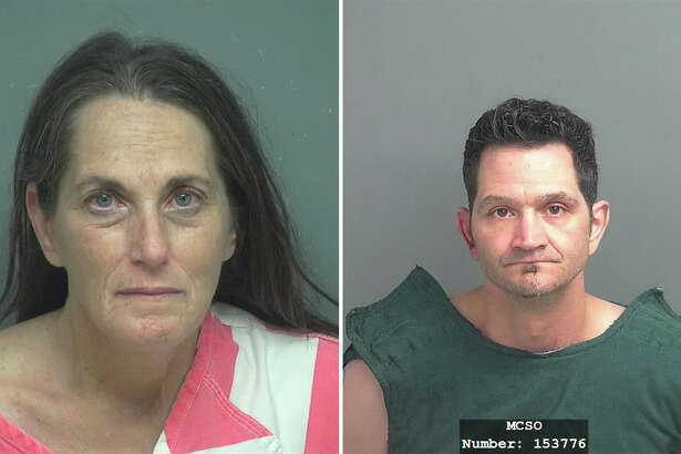 Theresa Bushnell was charged with possession of methamphetamine and Todd Bartek was charged with evading arrest after a police chase allegedly let to a crash in Porter on Sunday, Oct. 15, 2017.