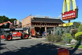 "In mid-October 2017, it is the turn of the McDonald's on Connecticut Avenue in Norwalk for an overhaul that the chain has been undertaking at locations throughout the state and nationally, even as it labels itself as ""quick service"" in a bid to shed the traditional image of fast food. Coming changes include digital screens on which patrons can punch in orders for delivery to tables; refreshed dining areas; and ordering from mobile devices."