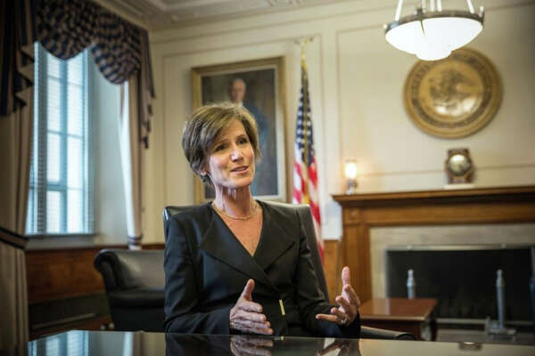 Sally Yates, former acting U.S. attorney general.