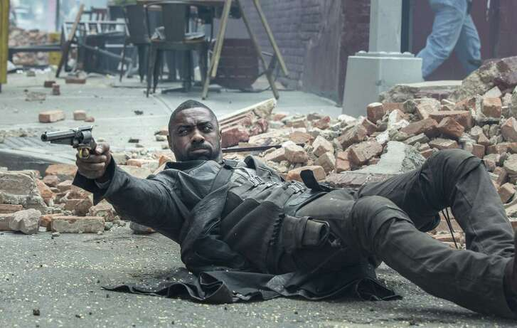 """Idris Elba stars in """"The Dark Tower,"""" one of a handful of new and reissued Stephen King movies fans can watch right now."""