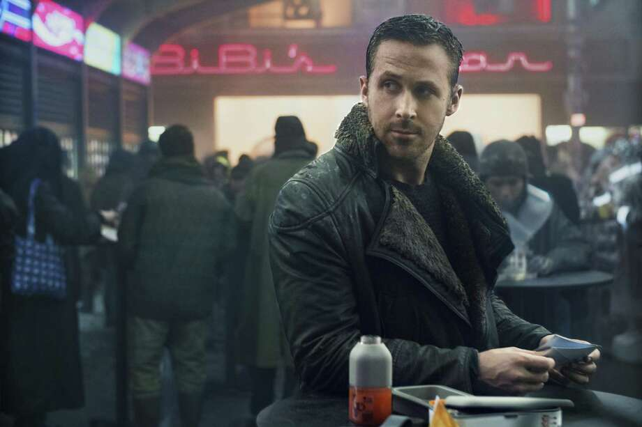 "Ryan Gosling in a scene from ""Blade Runner 2049,"" which is long and slow, but never boring. Photo: Stephen Vaughan / Warner Bros. Pictures / Associated Press / © 2017 Warner Bros. Entertainment Inc. All Rights Reserved."