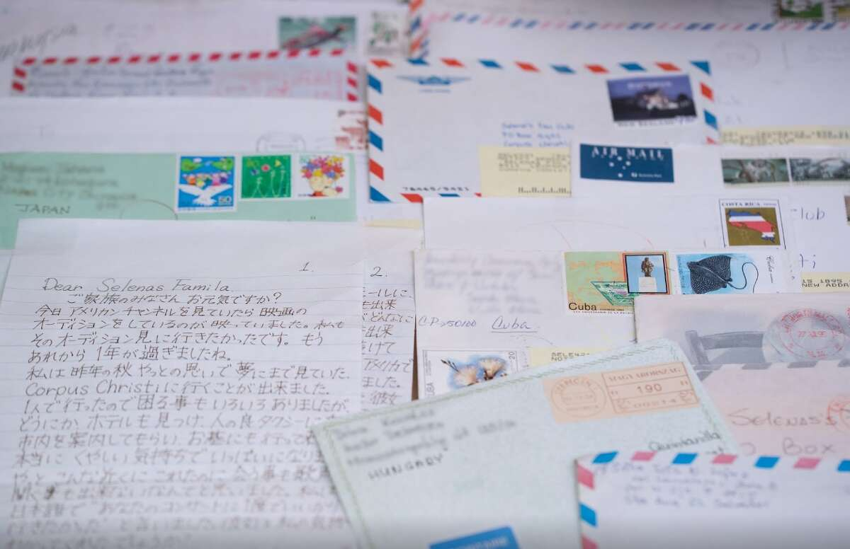 Letters from fans