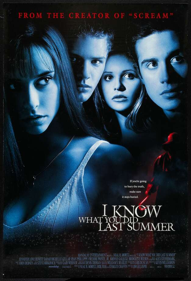 Poster for the movie 'I Know What You Did Last Summer,' 1997. Photo: Buyenlarge/Getty Images