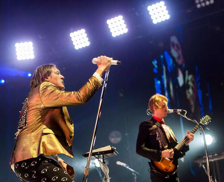 Arcade Fire performs at the Webster Bank Arena, Bridgeport CT on Tuesday, March, 18th, 2014.