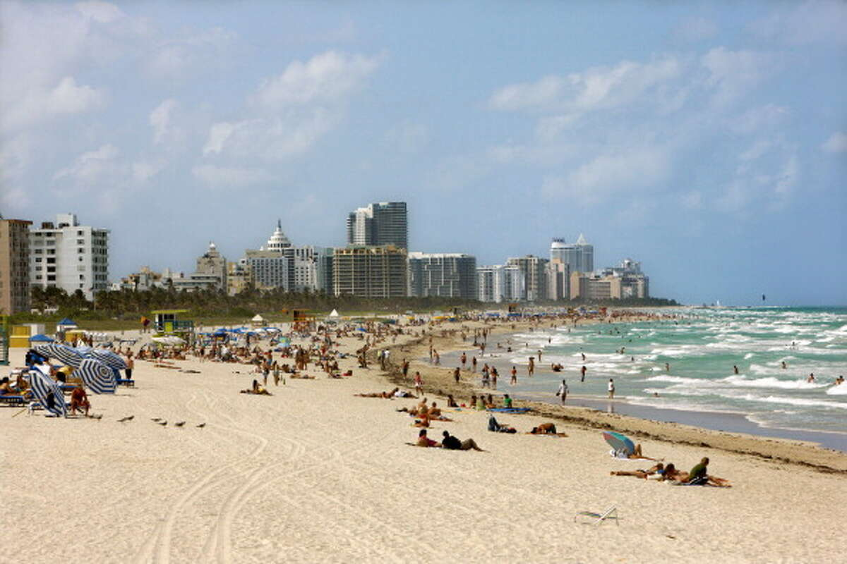 20. Miami-Fort Lauderdale-West Palm Beach, FL  Median household income: $54,284 How much house you can afford: $188,000 Median home value: $278,700