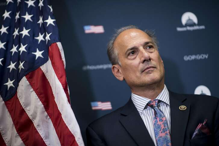 Rep. Tom Marino (R-Pa.), nominee for White House drug czar is under scrutiny after a news investigation found the lawmaker helped steer legislation that made it harder for the government to take some enforcement actions against giant drug companies. Tom Marino participates in the House GOP leadership press conference after the House Republican Conference meeting in the Capitol on Tuesday, September 27, 2016 in Washington, District of Columbia, U.S. (Bill Clark/Congressional Quarterly/Newscom/ZUMA Press/TNS)