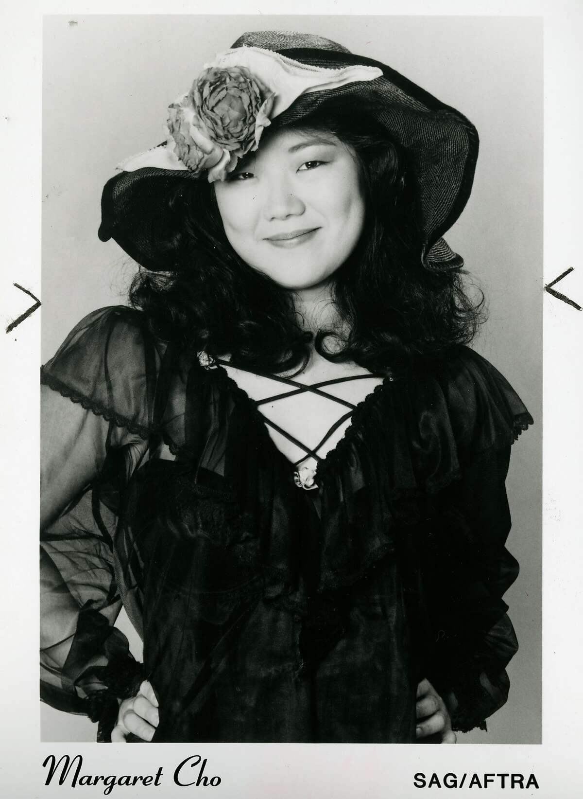 Margaret Cho during her says as a stand-up comic in San Francisco. July 6, 1993.