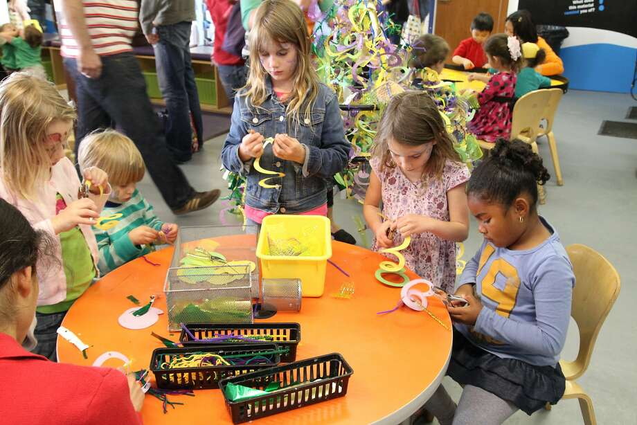 From the Bay Area Discovery Museum's Earth Day festivities Photo: Bay Area Discovery Museum