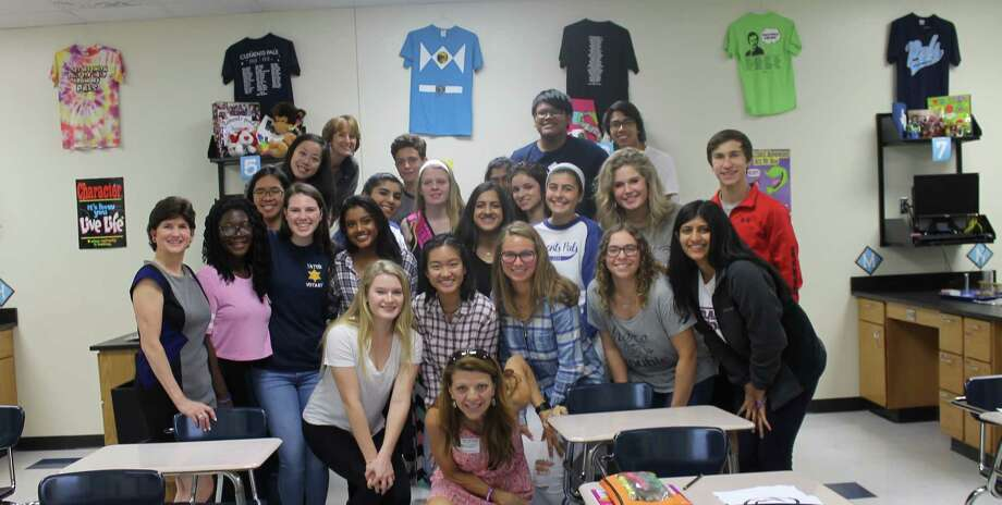 "Hope For Three Autism Advocates presents ""It's Cool to Care,"" their signature awareness campaign, to Mrs. Sparwasser's PALs (Peer Assistance and Leadership) classes at Clements High School. Photo: Courtesy Photo"