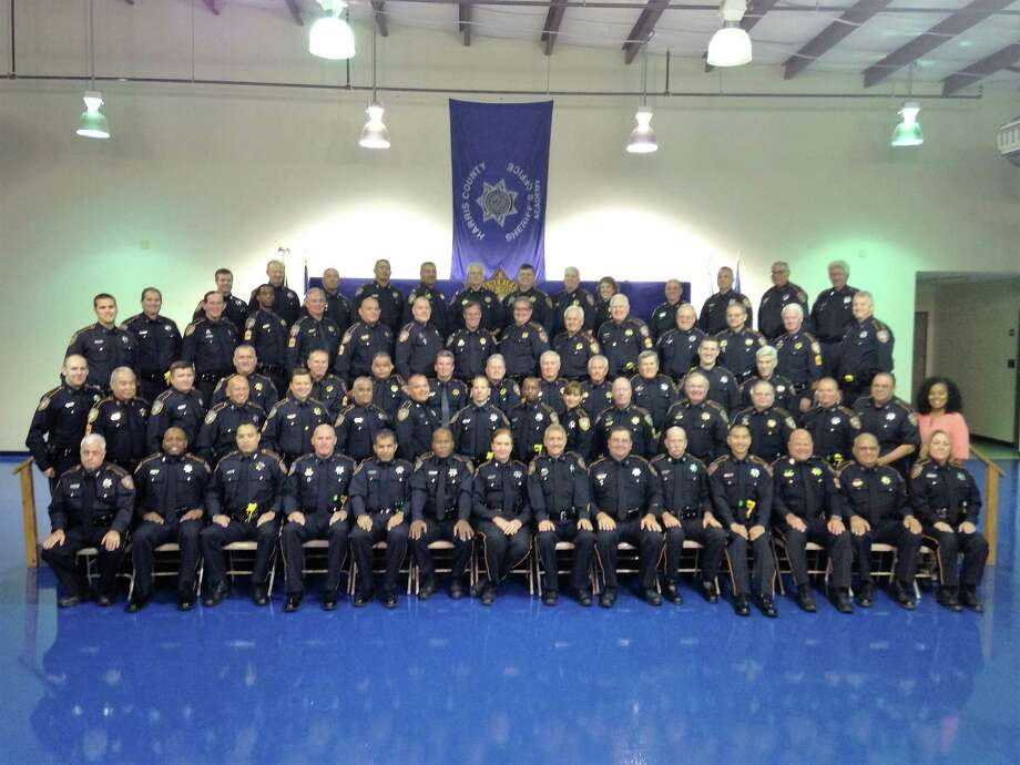 A portion of the Harris County Sheriff's Office Reserves during a monthly meeting at the Harris County Sheriff's Academy. Photo: Courtesy Photo