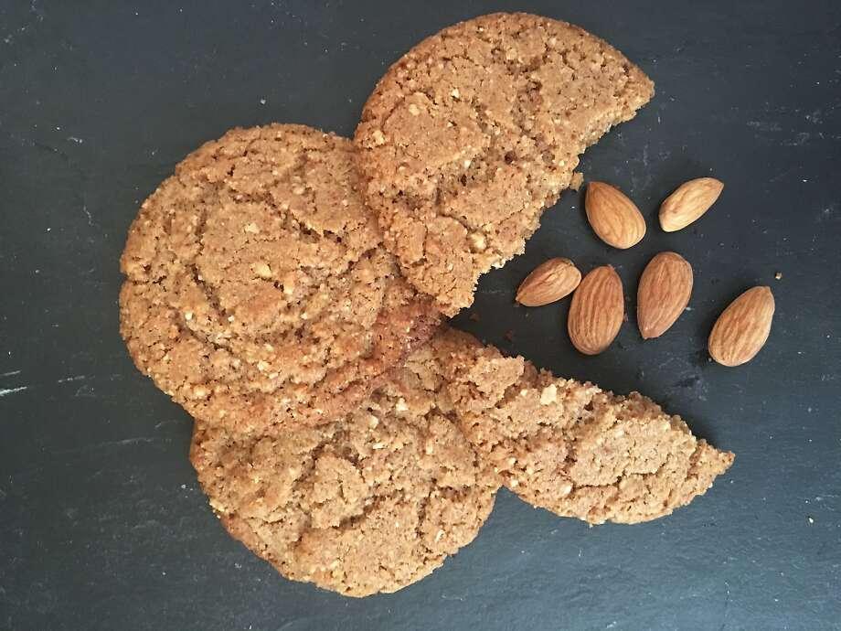 Almond Butter Cookies. Photo: Sarah Fritsche
