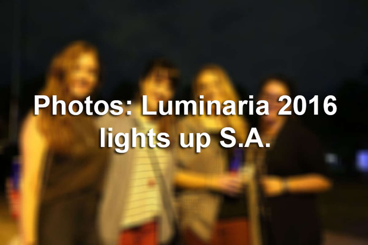 Luminaria spread out into the East Side Friday night, Nov. 11, 2016, with performances and visual art installations.