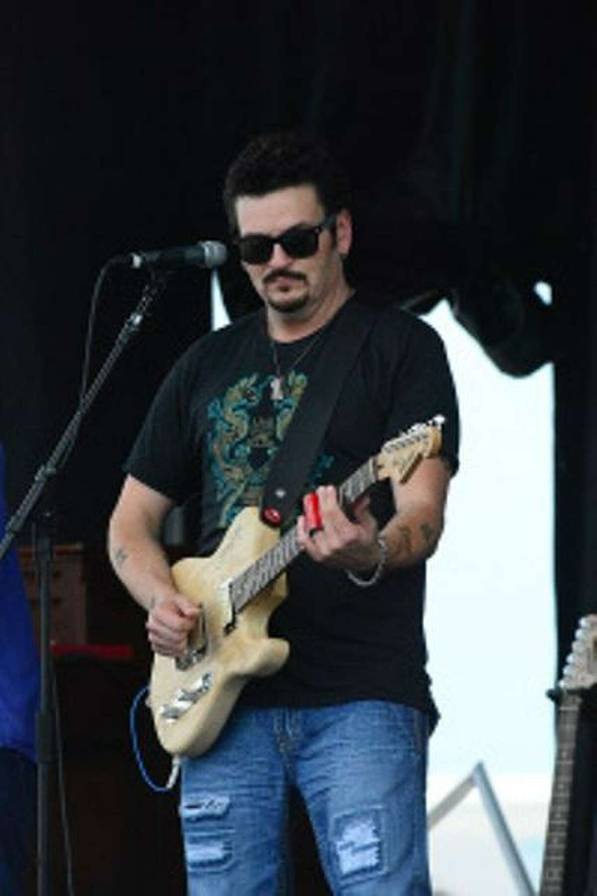 American blues artist Mike Zito and his band return to the Bridge Street Live stage on Friday.