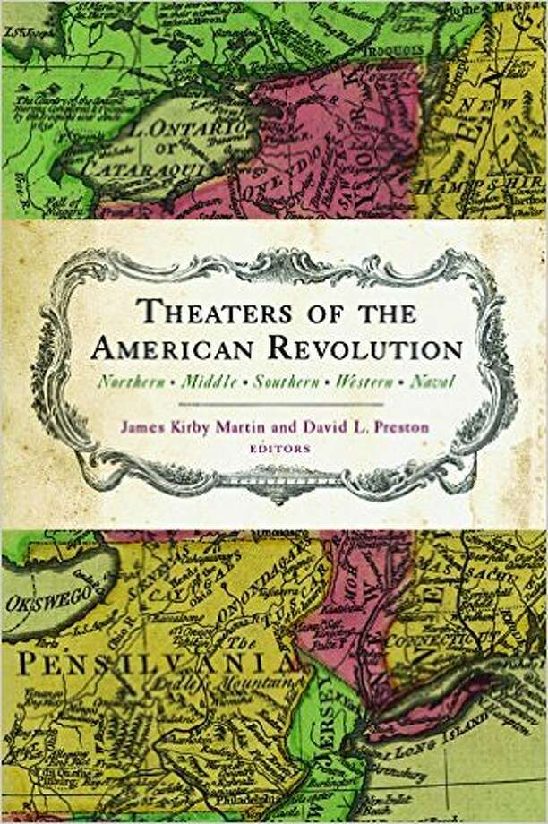Theaters of the American Revolution book is the basis for a Veteran's Day symposium at Schenectady County Community College.