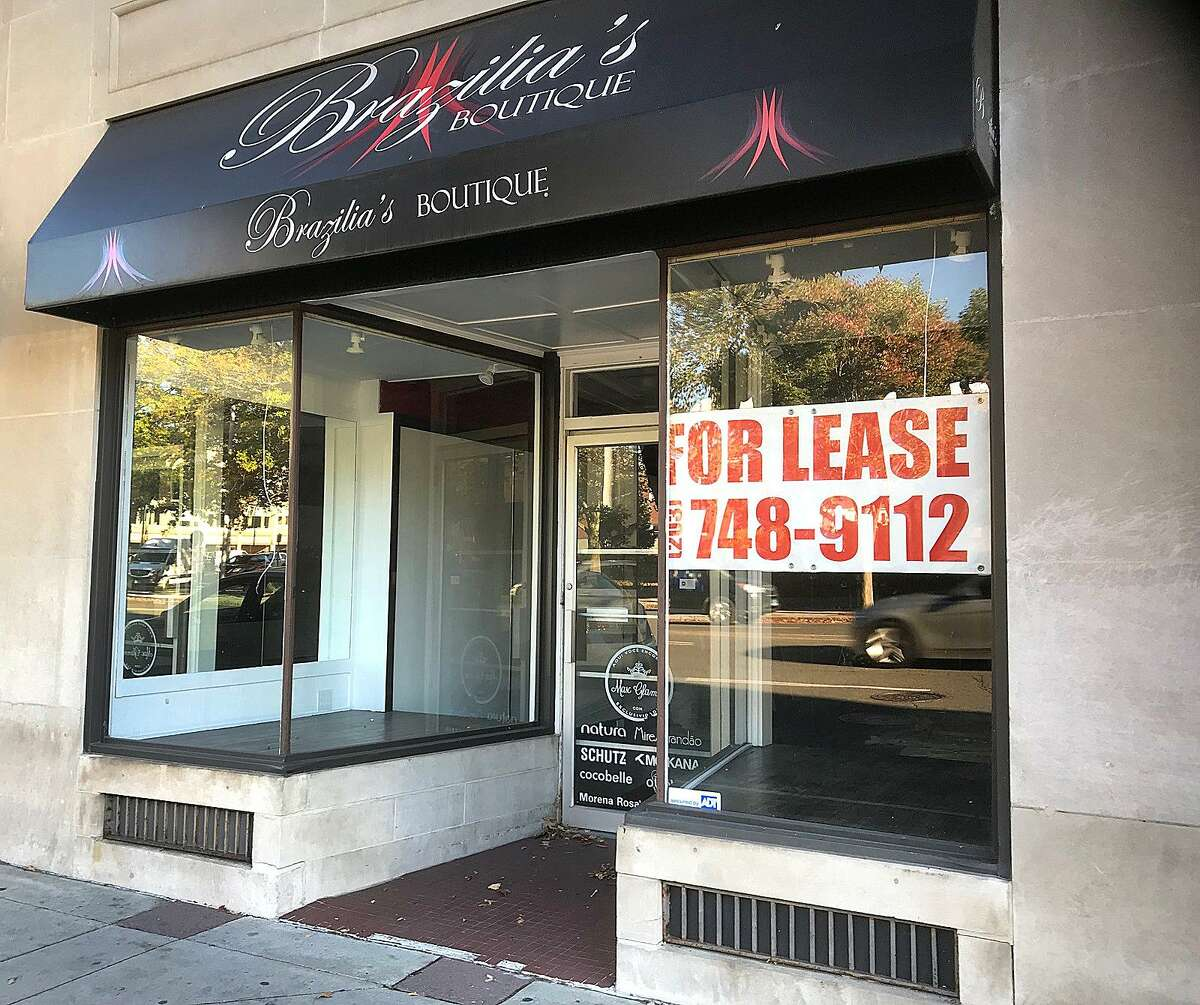 167 Main Street: The former location of Brazilia's Boutique in downtown Danbury is for lease. Brazilia's moved to the building in 2015 after having a store in the Danbury Fair mall. It sold women's accessories and specialty shoes. The storefront is near The Palace on Main Street.