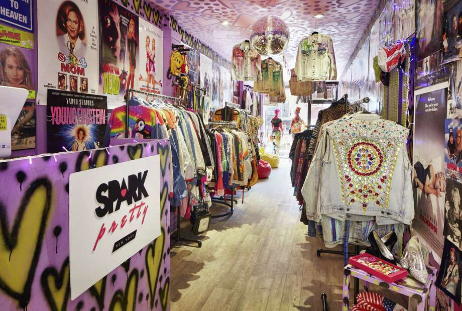 Greenwich, Conn., native Amanda Dolan recently opened vintage retail store Spark Pretty's first storefront in New York City's East Village. Photo: Contributed Photo / John Muggenborg / Greenwich Time Contributed