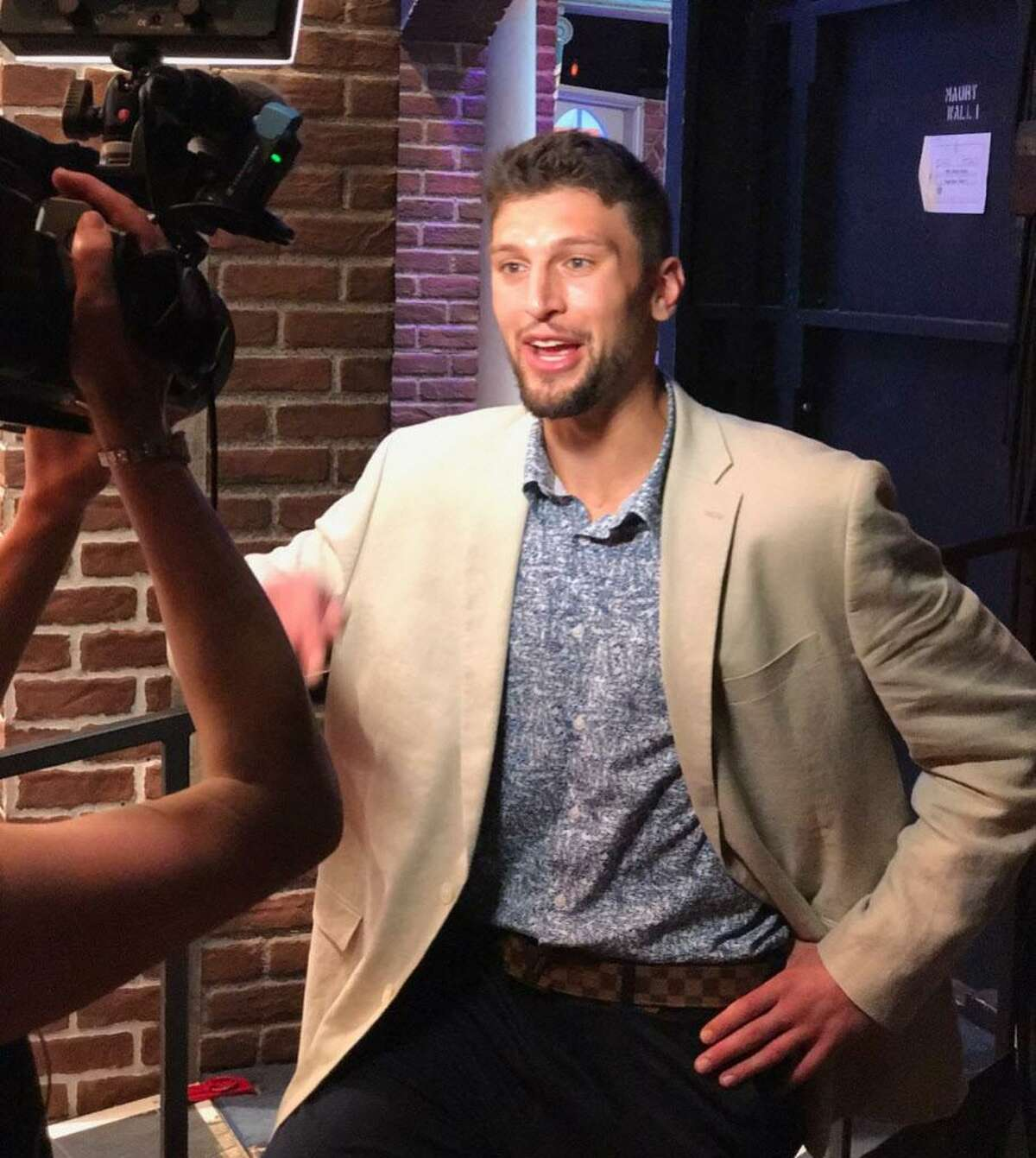 Mike Boornazian, 24, a Portland native, Xavier High School graduate and former Bates College basketball player, is associate producer of The Maury Show.