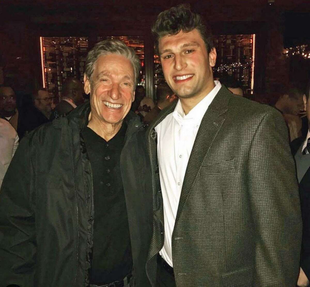 """Maury Povich, left, said Boornazian is a natural-born and motivated leader. """"Not only does he have the DNA of a true competitor, he has a clear understanding of the importance of being a team player,"""" he said."""