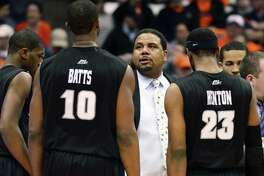 Coach Ed Cooley and the Providence men's basketball team will face UConn in an exhibition game on Oct. 25 at Mohegan Sun Arena.