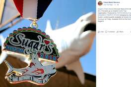 Sugar's, the adult entertainment club at 2731 N.W. Loop 410, released their first-ever Fiesta medal on Tuesday via the Fiesta Medal Maniacs Facebook page.