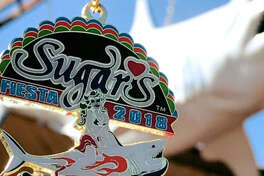 Facebook share image: Sugar's, the adult entertainment club at 2731 N.W. Loop 410, released their first-ever Fiesta medal on Tuesday via the Fiesta Medal Maniacs Facebook page.
