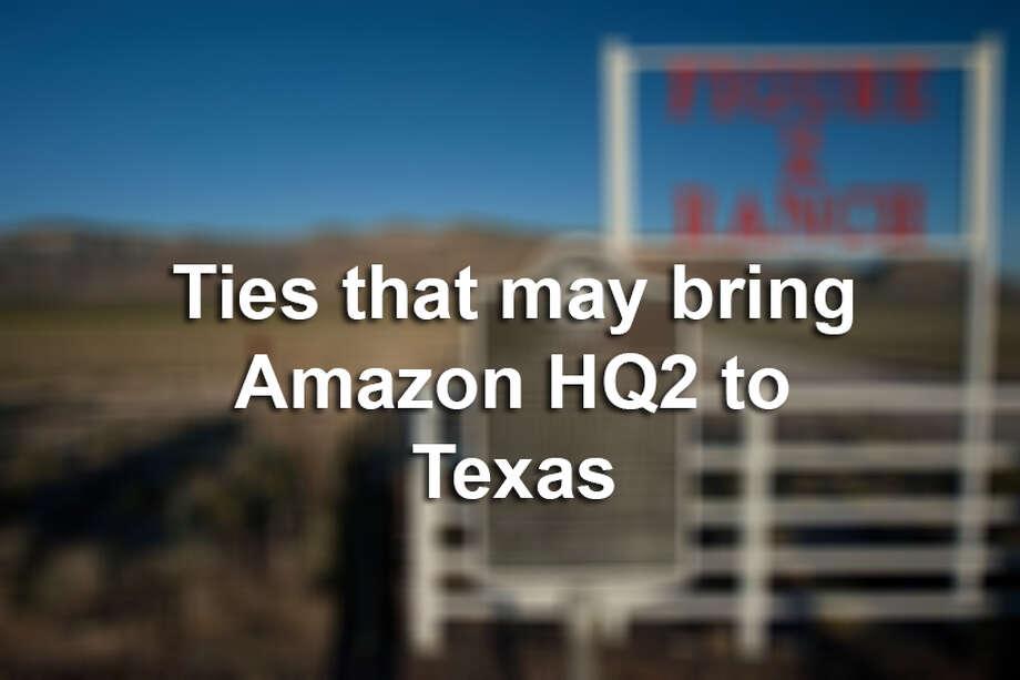 5 Jeff Bezos Texas ties that may help bring Amazon's $5 billion headquarters to the Lone Star State Photo: MySA.com