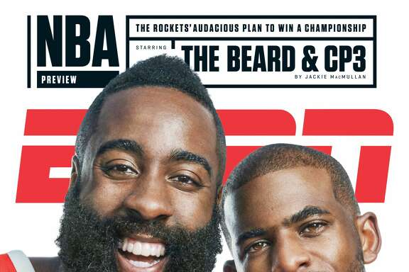 "Chris Paul's decision to sign with the Rockets and James Harden and his work on behalf of Hurricane Harvey relief are among the topics of ""Chris Paul's Chapter 3,"" a three-part series from ESPN Films that premieres at 6 p.m. Thursday on ESPN."