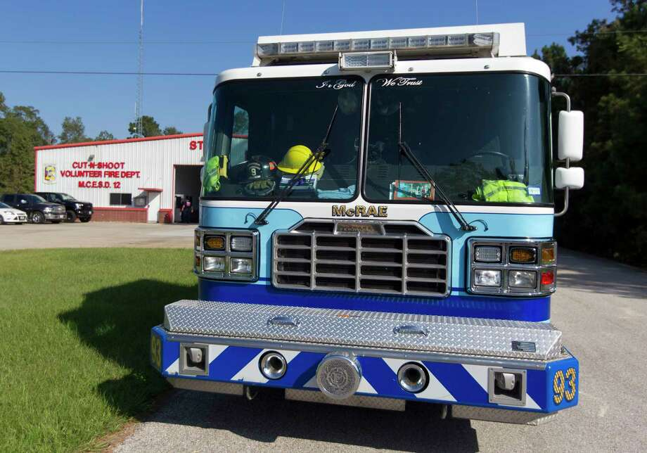 north montgomery county cut and shoot fire department merger on