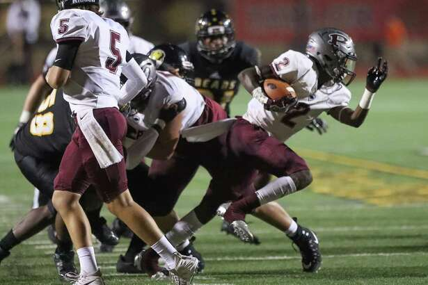 Jaelin Benefield (2) and Pearland got some bulletin-board material via social media and then made Hastings pay for it.