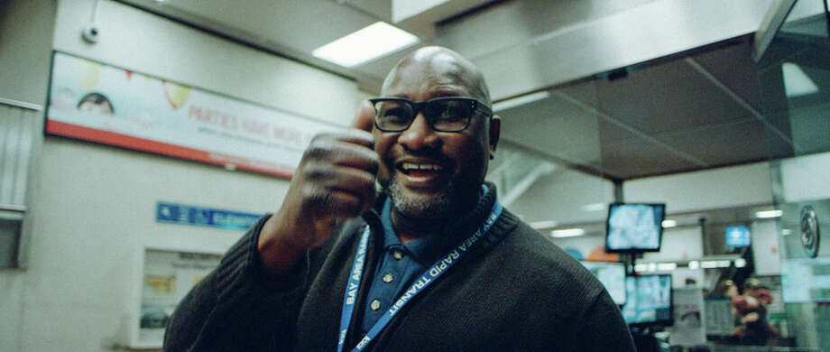 William Cromartie is a BART station agent best known for his friendly greetings and fist bumps. Photo: Ivan Cash