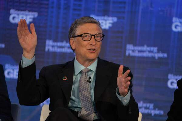 Bill Gates, former Microsoft chairman, is the richest American with $89 billion, according to Forbes.