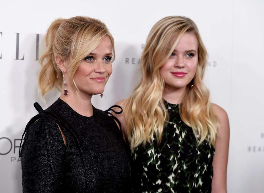 Reese Witherspoon, left, and Ava Phillippe arrive at the 24th annual ELLE Women in Hollywood Awards at the Four Seasons Hotel Beverly Hills on Monday, Oct. 16, 2017, in Los Angeles. (Photo by Jordan Strauss/Invision/AP) ORG XMIT: CAPM152 Photo: Jordan Strauss / 2017 Invision
