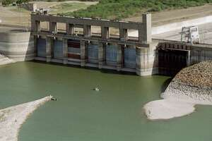 """This is how Falcon Dam  appears during a time of drought. It and the other dams were identified in the safety report as """"high priority"""" or """"conditionally unsafe."""""""