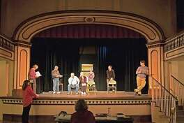 "The Meeting House Players in Chester present the comedy ""Play On"" opening Oct. 27."