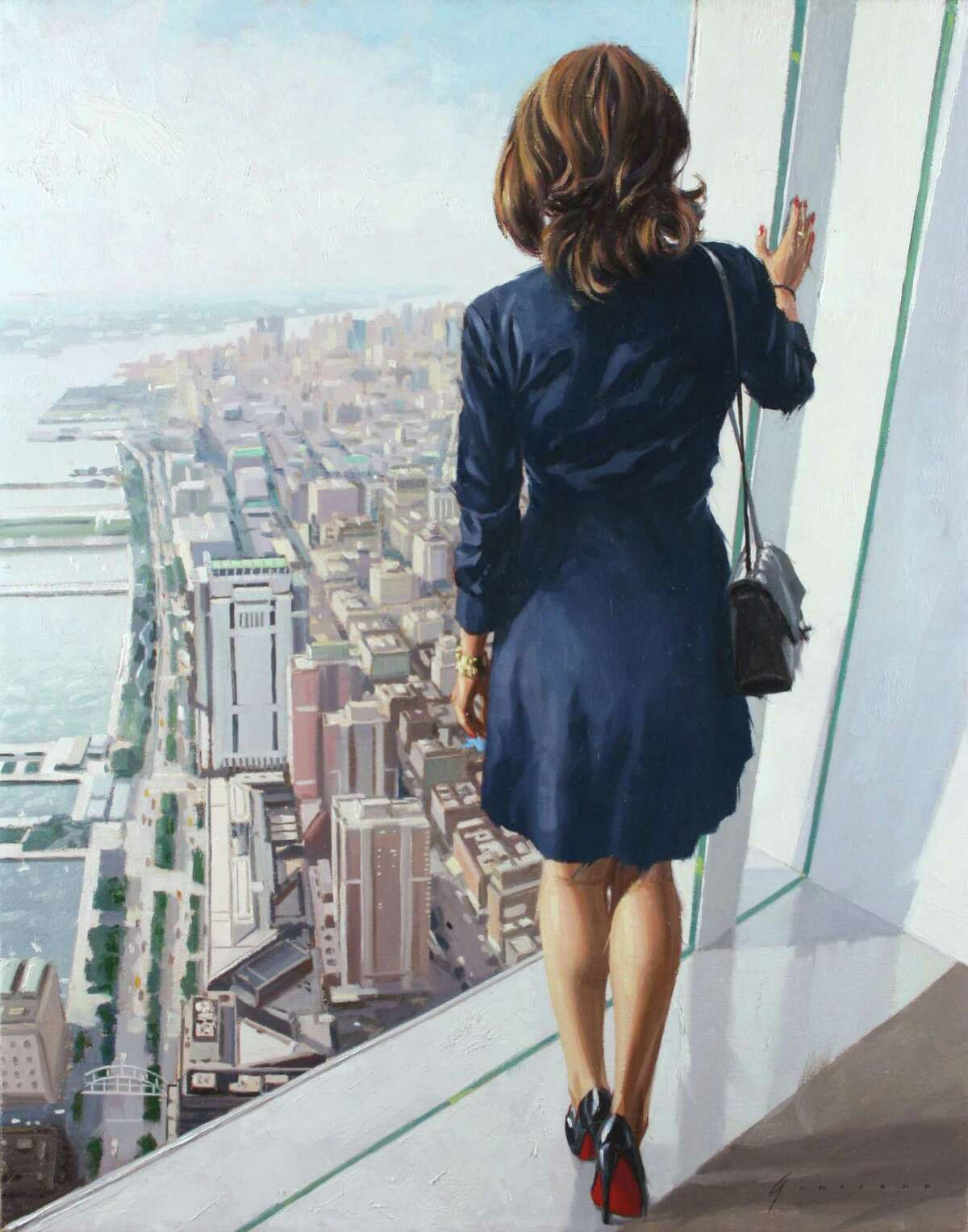 Paintings by Vincent Giarrano are on display at Susan Powell Fine Art in Madison.