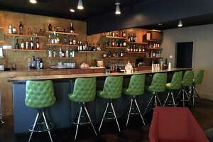 Olaf Harmel and Gerry Shirley own The Modernist, a new bar at 516 E. Grayson St.