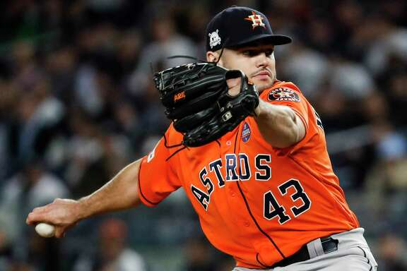 Game 4 was going along just fine Tuesday for the Astros so long as the ball was in the hands of Lance McCullers Jr.
