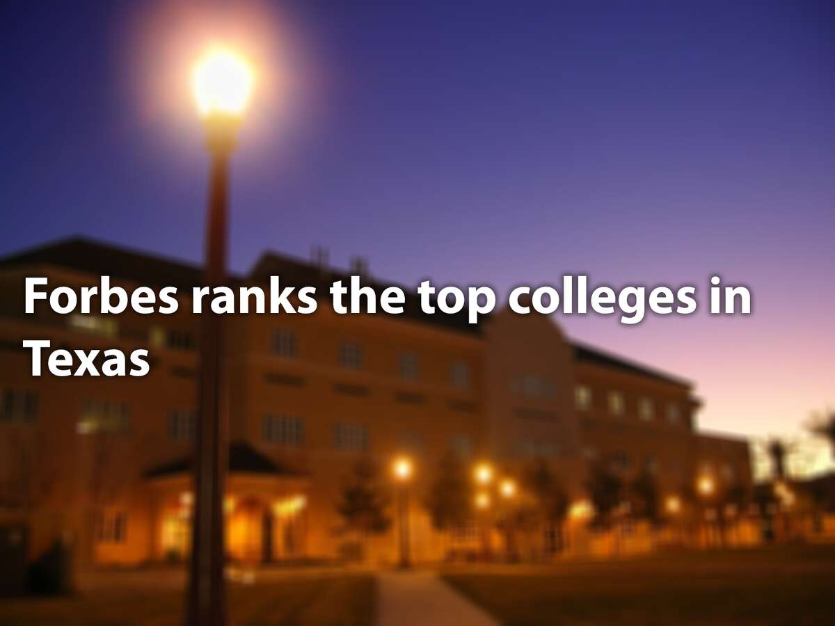 Forbes ranks the top colleges in Texas
