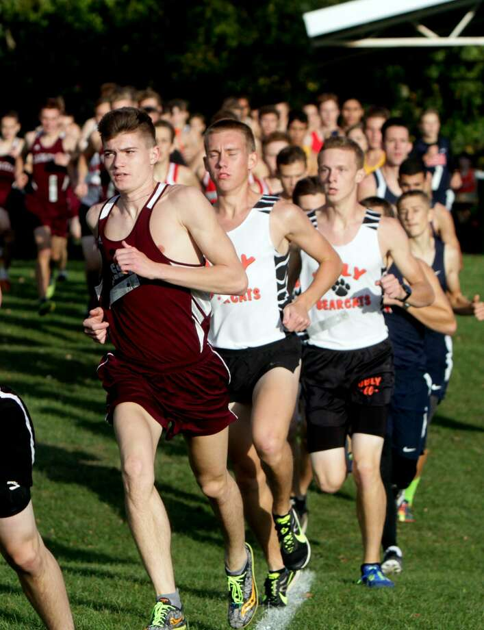 Greater Thumb Conference Cross Country Meet 2017 Photo: Paul P. Adams/Huron Daily Tribune