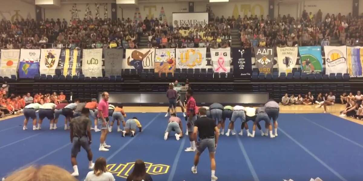 The dance routine of an Oklahoma fraternity recently went viral and the group of students are using the attention to promote The Special Olympics.
