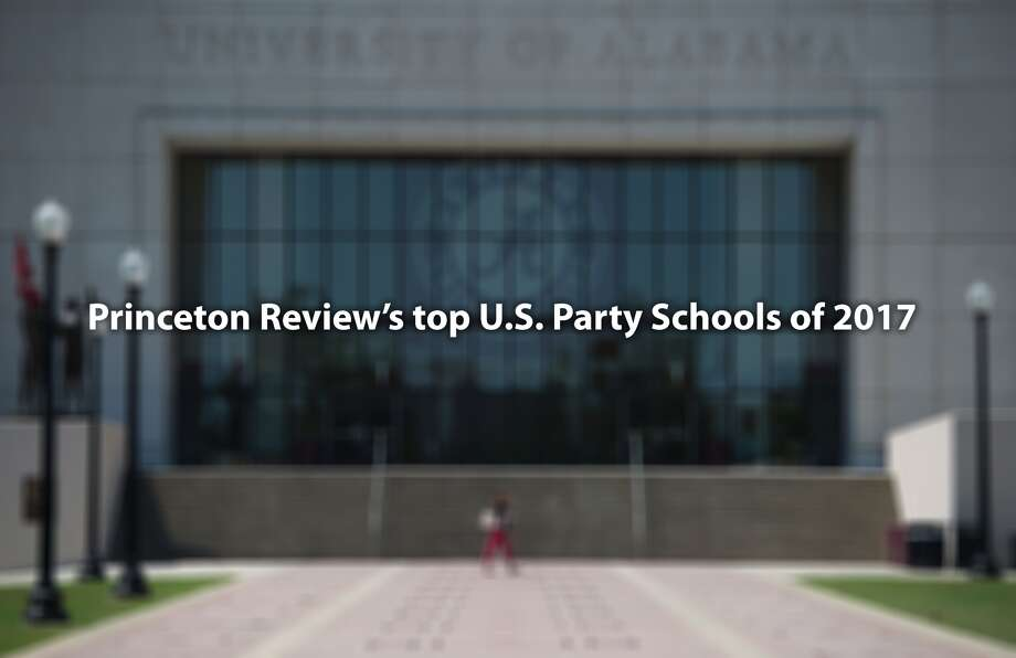 Princeton Review released their list of the top 20 party schools in the country for 2017. Click through to see which schools made it to the list...