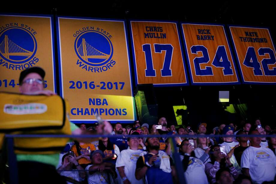 This is not 2017, when the Warriors drove a stone-cold 16-1 steamroller through the playoffs. Photo: Santiago Mejia / The Chronicle