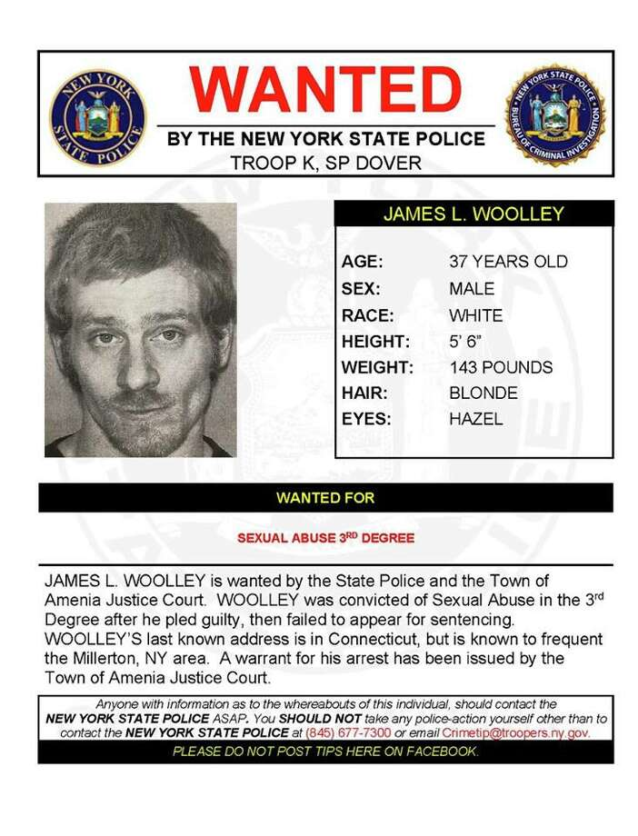 James Woolley Photo: New York State Police