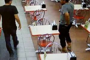 Police are asking for the public's help in identifying two men in connection with a missing smartphone case.
