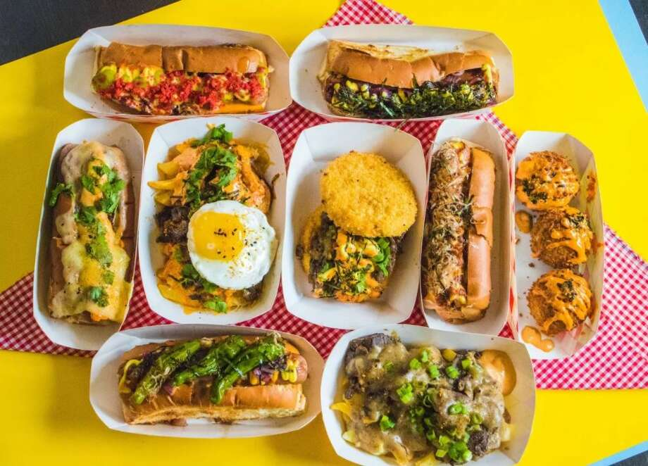 Spicy Dog is set to open near Montrose and Westheimer. On the menu are 100-percent beef hot dogs, fries and a specialty burger. Photo: Chelsea Pham/Reverberate Marketing Agency