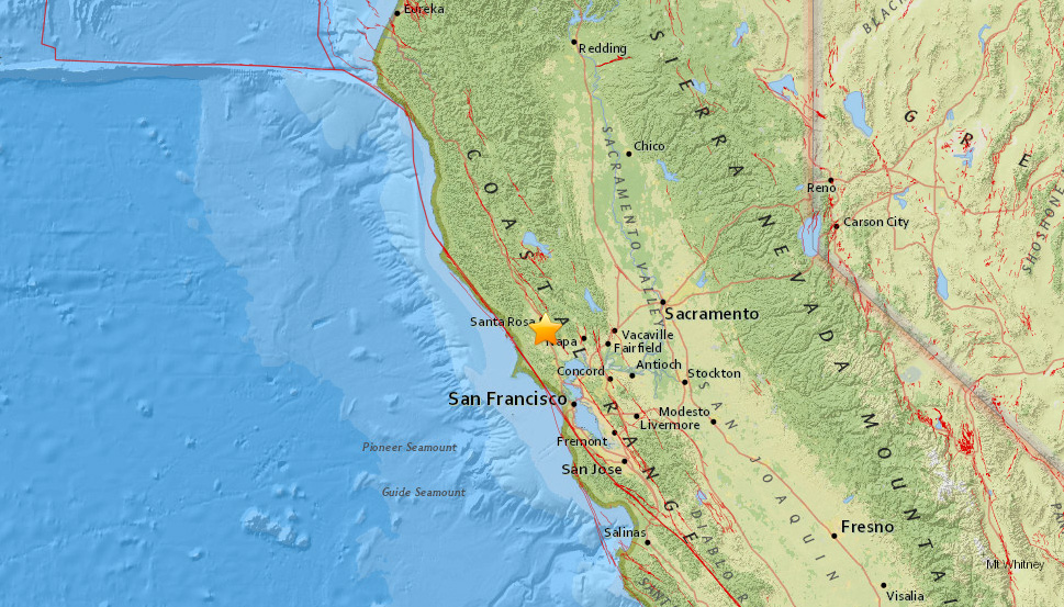 magnitude 2 7 earthquake strikes near rohnert park