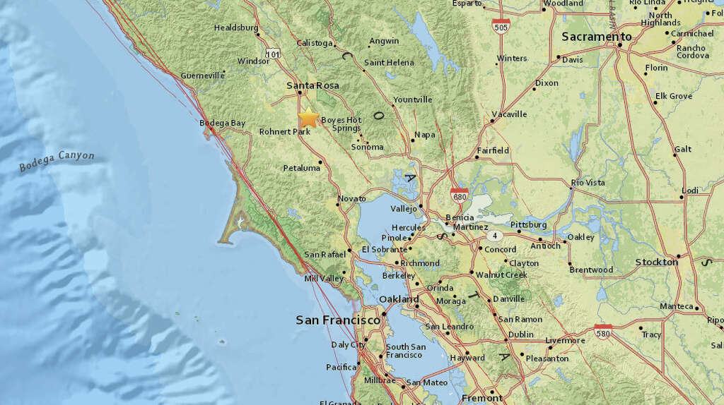 a magnitude 2 7 earthquake struck near rohnert park on tuesday night october 17 2017
