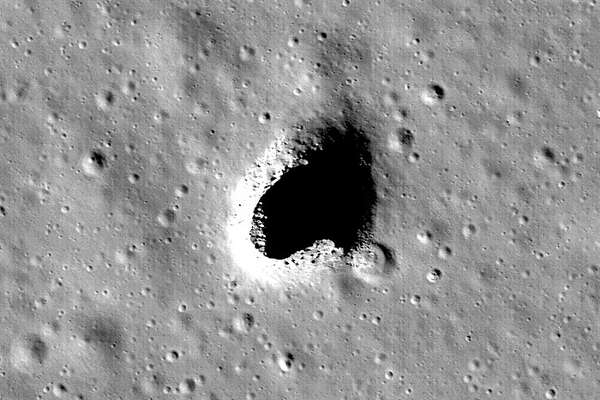 Researchers have found a large open lava tube on the moon, which could be a location for a human base.