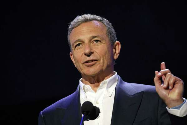 Bob Iger, chairman and chief executive officer of The Walt Disney Co., at the Disney Legends Awards at the D23 Expo 2017 in Anaheim, California, on July 14, 2017.